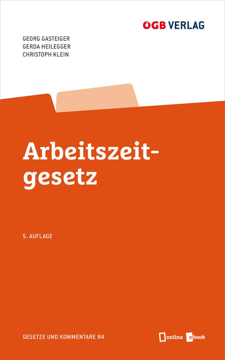 Arbeitszeitgesetz Cover
