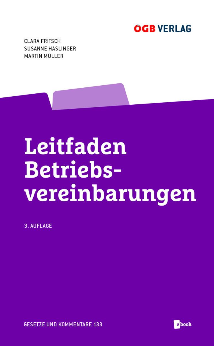 Cover Leitfaden Betriebsvereinbarung